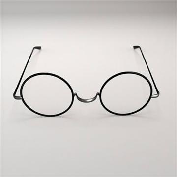 harry potter glasses.zip 3d model 3ds dxf fbx c4d obj 83719