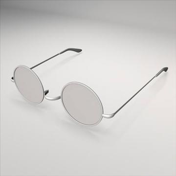 harry potter glasses.zip 3d model 3ds dxf fbx c4d obj 83721