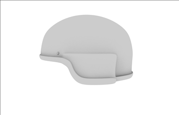helmet 3d model 3ds dxf c4d obj 96248