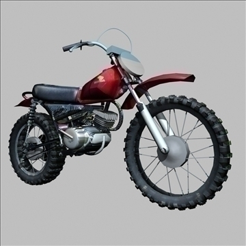 honda mr 50 3d modell 3ds 79454