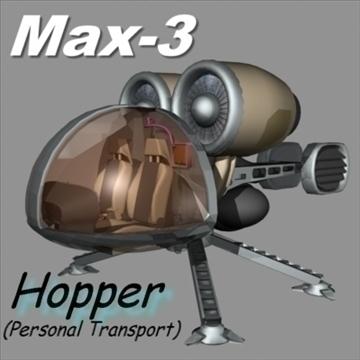hopper 3d model max 84754