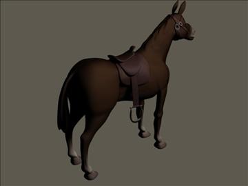 horses 3d model max 109329