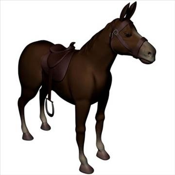 horses 3d model max 109330
