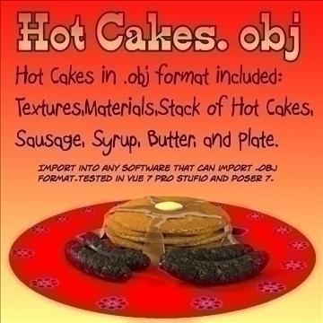 karstas kūkas. obj 3d modelis obj 104724