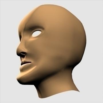 humanoīda galva 3d modelis max 100651
