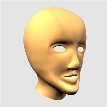 хүний хуяг толгой 3d загвар max 100652