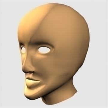 хүний хуяг толгой 3d загвар max 100653