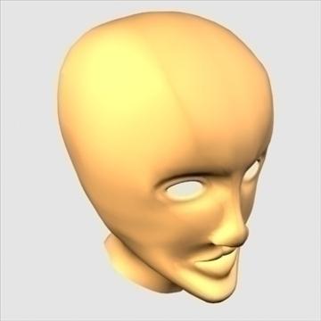 хүний хуяг толгой 3d загвар max 100654