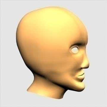 хүний хуяг толгой 3d загвар max 100655