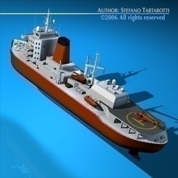 icebreaker 3d model 3ds dxf c4d obj 84899