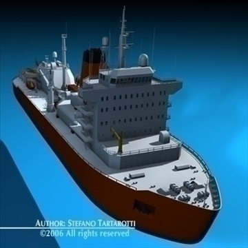 icebreaker 3d model 3ds dxf c4d obj 84901