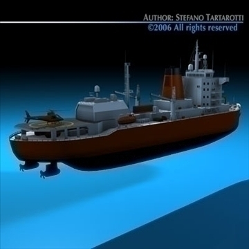 icebreaker 3d model 3ds dxf c4d obj 84903