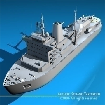 icebreaker 3d model 3ds dxf c4d obj 84906