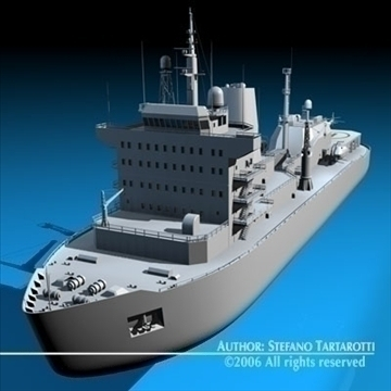 icebreaker 3d model 3ds dxf c4d obj 84907