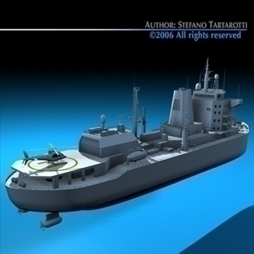 icebreaker 3d model 3ds dxf c4d obj 84908