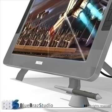 interactive tablet 3d model 3ds dxf c4d obj 103076