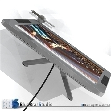 interactive tablet 3d model 3ds dxf c4d obj 103077