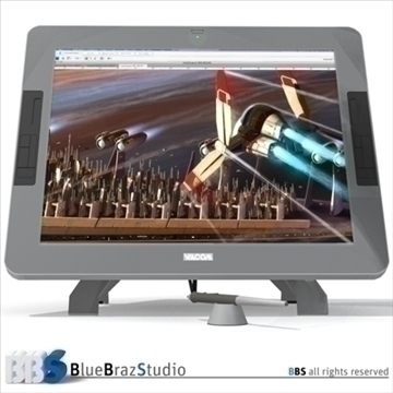 interactive tablet 3d model 3ds dxf c4d obj 103078