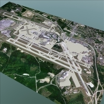 international airport set 1 3d model 3ds max lwo ma mb hrc xsi texture obj 107780