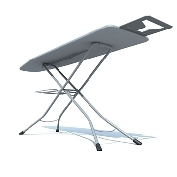 ironing board 3d model 3ds max dxf obj 83119