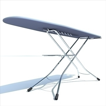 ironing board 3d model 3ds max dxf obj 83120