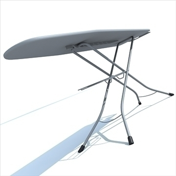 ironing board 3d model 3ds max dxf obj 83121