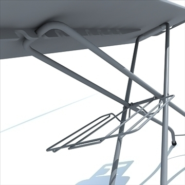 ironing board 3d model 3ds max dxf obj 83122