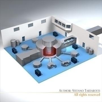 isis neutron accelerator 3d model 3ds dxf c4d obj 95597