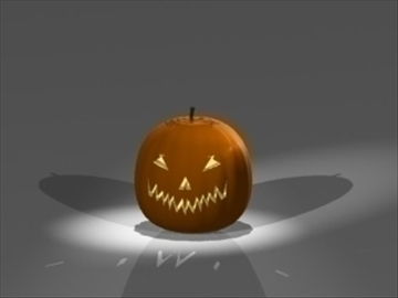 jack o lantern 3d model 3ds dxf lwo 81003