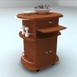Kitchen Table 01 ( 40.25KB jpg by Yen3D )