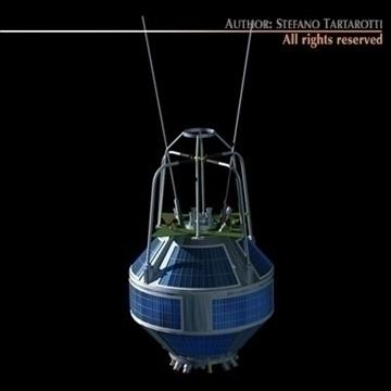 kosmos 2251 3d model 3ds dxf c4d obj 101179