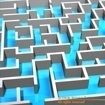 labirints 3d modelis 3ds dxf c4d obj 98232