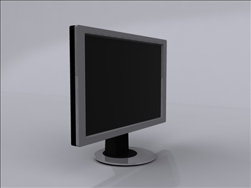 lcd monitor 2 3d model 3ds max fbx obj 92829
