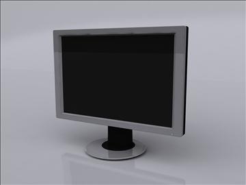 lcd monitor 2 3d model 3ds max fbx obj 92830