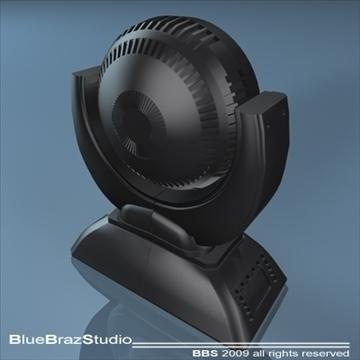 led moving head 3d model 3ds dxf c4d obj 96501