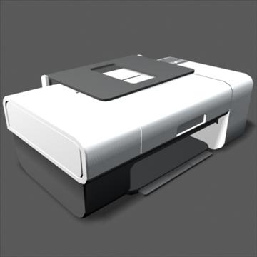 lexmark z735 inkjet printer 3d model max 100646
