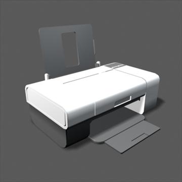 lexmark z735 inkjet printer 3d model max 100647