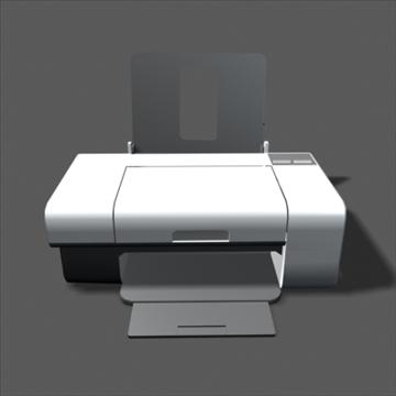 lexmark z735 inkjet printer 3d model max 100648