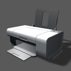 Lexmark z735 Inkjet printer ( 52.12KB jpg by futurex3d )