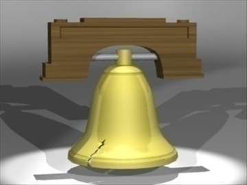 liberty bell 3d model 3ds dxf lwo 81004