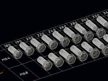 library screws bolts din 931 iso 4014 3d model dwg 108271