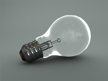 light bulb 3d model 3ds dxf fbx c4d obj 82550
