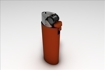 lighter 2 3d model 3ds c4d 109269