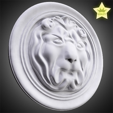 lion basrelief 3d model 3ds max fbx c4d lwo hrc xsi obj 100106