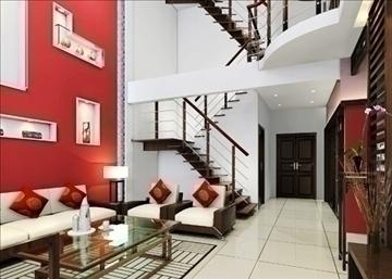 living room001 3d model max 79890