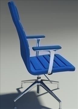 lotus medium blu fabric armchair 3d model max dxf fbx obj 92321