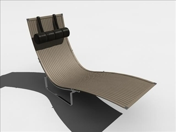 lounger 3d model ma mb obj 82906