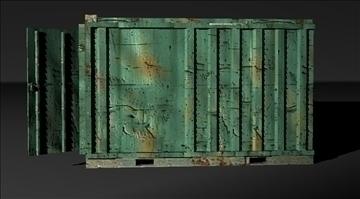 lowpoly container 3d model fbx x tga targa icb vda vst pix obj other 110345