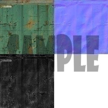 lowpoly container 3d model fbx x tga targa icb vda vst pix obj other 110346