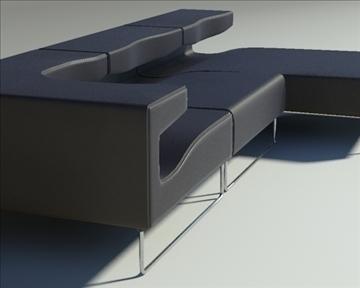 lowseat leather composition 3d model 3ds max fbx obj 91549